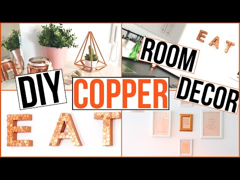 DIY ROOM DECOR - Roségold/Kupfer - TheBeauty2go