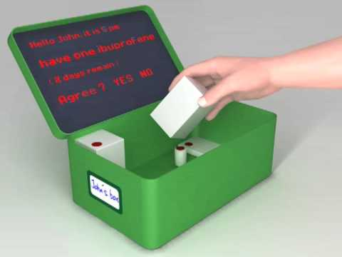 The e-PharmaBox - James Dyson Award 2009