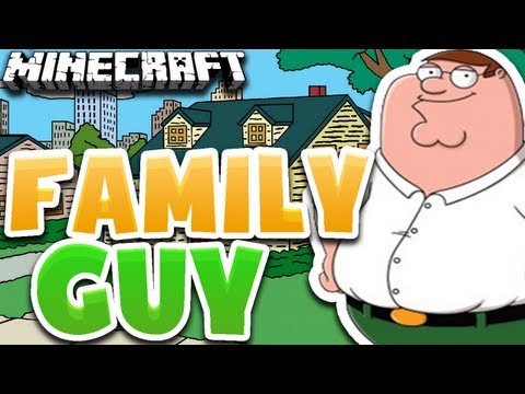 Minecraft Construindo : CASA FAMILY GUY !! - Remake Epico :D