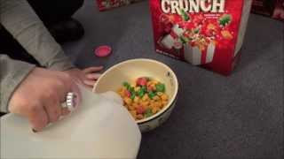 Tasting Christmas Captain Crunch Limited Edition Cereal