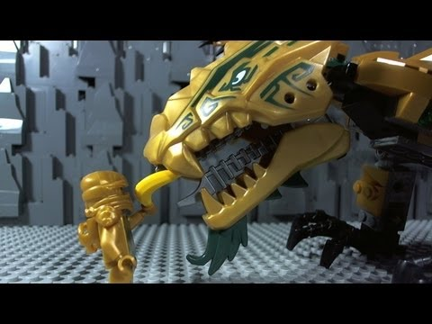 Lego Ninjago The Golden Dragon 70503 video