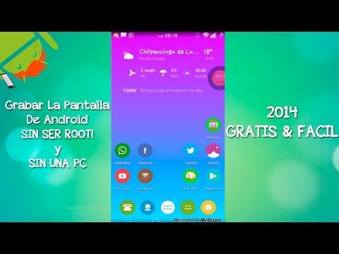 Grabar Pantalla De Android Sin Root Y Sin Computadora   Gratis. fácil Y rápido - CesarGBTutoriales
