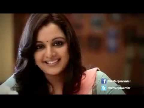 Manju Warrier ignoring Dilip with interview