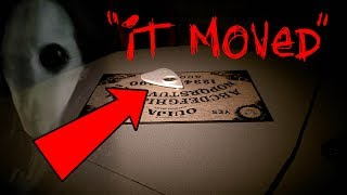 OUIJA WITCH BOARD MOVES ITSELF! - 3AM CHALLENGE IN HAUNTED OFFICE | OmarGoshTV