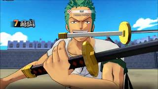 One Piece Burning Wishes android game first look gameplay español