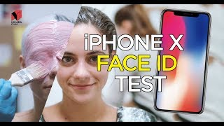 IPHONE X - Face ID Test / realistic face mold