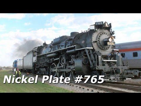 Nickel Plate #765-Trackside Travels-HD 1080p