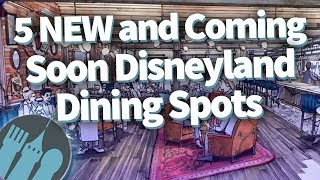 5 NEW and COMING SOON Must-Do Disneyland Dining Spots!