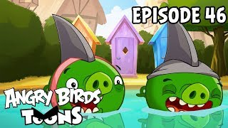 Angry Birds Toons | Piggies From the Deep - S1 Ep46