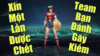 [Gcaothu] Wonder woman tuyên bố trùm đấu sĩ cân hết kèo đấu - Đánh mãi không chết