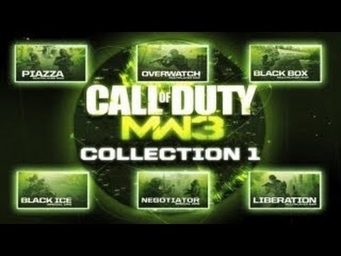 MW3 - DLC / Map Pack Collection 1 PS3 Date and Robert Bowling Quits Infinity Ward / Activision