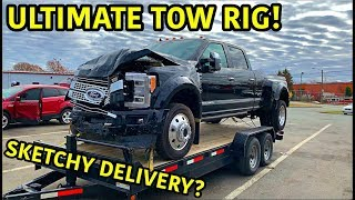 Rebuilding A Wrecked 2019 Ford F-450 Platinum