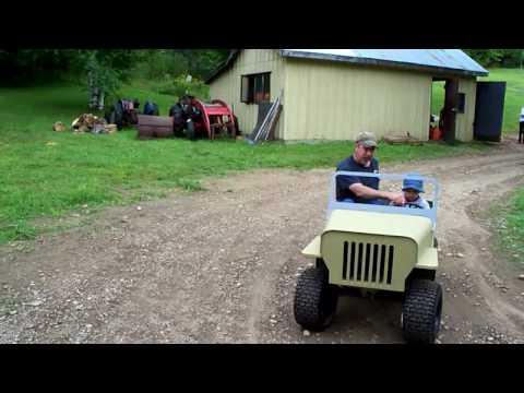 Jeep CJ2B replica go kart