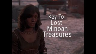 Assassin's Creed Odyssey : Submerged Minoan Palace , How To Get The Key #  Obelia Quest