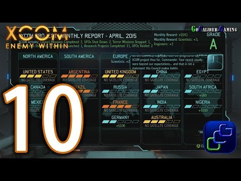 XCOM: Enemy Within Walkthrough - Part 10 - UFO Crash Site - South Africa