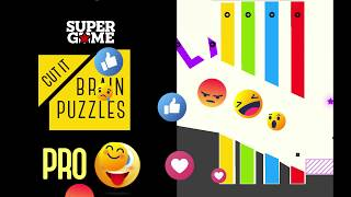 Pro vs Noob| Cut it: Brain Puzzles| THE FUNNY  PUZZLE GAME 2018.