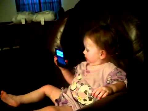 download lagu Baby Talking To Dad On Phone Funny Girl  gratis