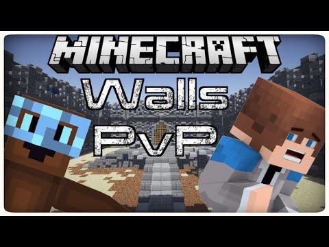 Minecraft Mini-Games: Walls PVP ( Hypixel