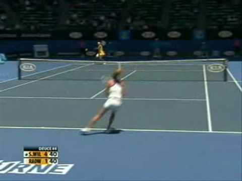 Serena Williams vs Urszula Radwanska 2010 Highlight 1