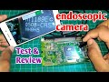 Endoscopic camera for electronic components inspection snake camera review MP3