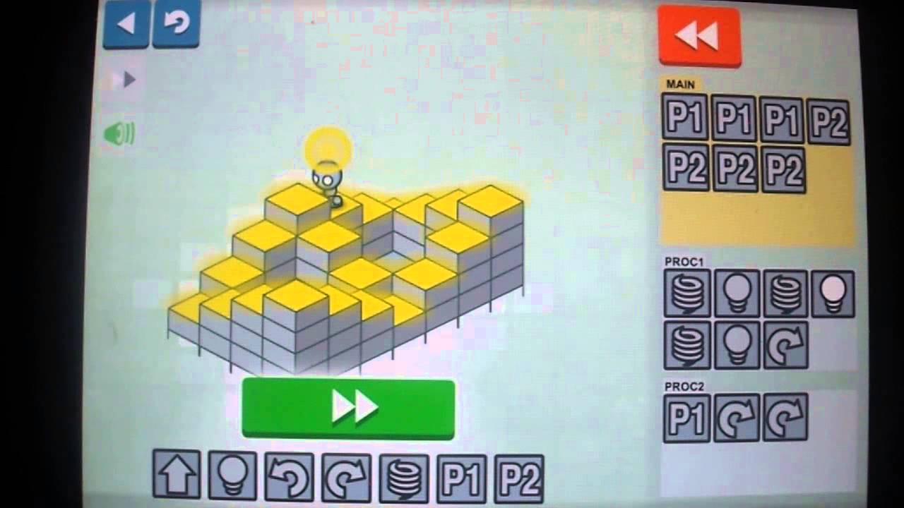 Light bot 2 android version world 2 procedures youtube