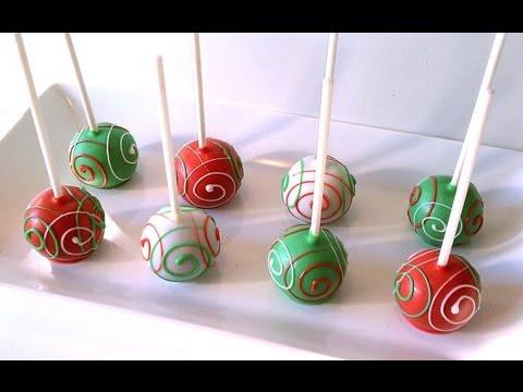 Ricetta Cake Pops , Cake Pop Piping
