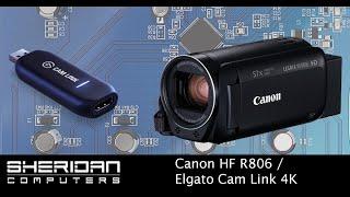 Canon Legria HF R806 | Elgato Cam Link 4K | OBS | Streaming