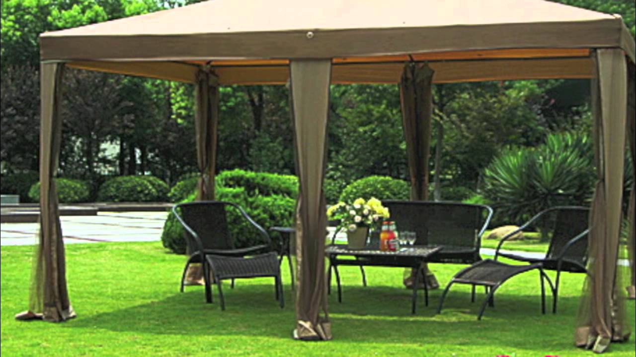 Big Lots 10x13 Gazebo Replacement Canopy Youtube