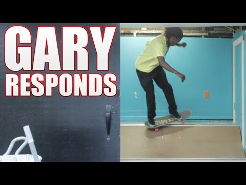 Gary Responds To Your SKATELINE Comments Ep. 280 - Mini Ramp Tricks, Ghetto Bird, Hardflip 180