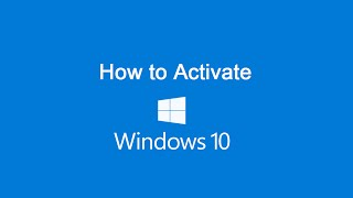 How to Activate Windows 10 [any version]