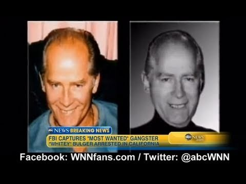 Boston Mobster James 'Whitey' Bulger Arrested in California