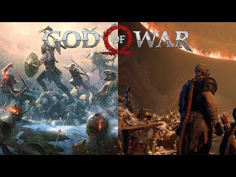 God of War PS4 - Egyptian Characters in the Norse Universe?! thumbnail