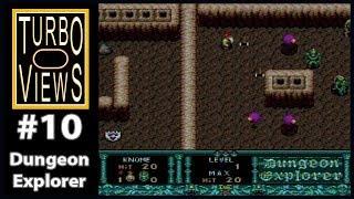 """Dungeon Explorer""  -  Turbo Views #10 (TurboGrafx-16 / Duo game REVIEW!)"