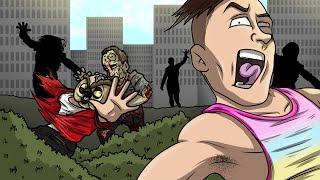 GMOD ZOMBIE DEATHRUN! - Garry's Mod Funny Moments