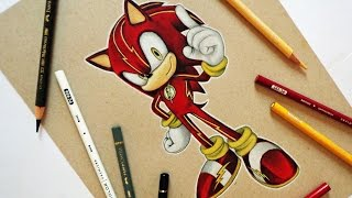 "Speed Drawing: ""Sonic-Flash"""