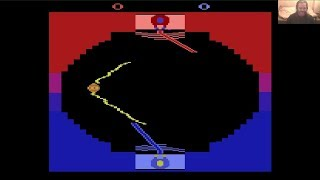 Lukozer Retro Game Review - 546 - Star Wars: Jedi Arena - Atari 2600 (VCS)