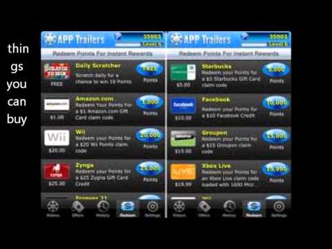App Trailers 2013 - how to make easy free money up to 50 bucks a day! (legit)