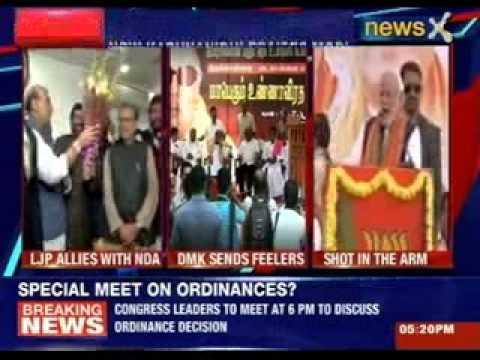 M Karunanidhi praises Narendra Modi as a 'good friend'