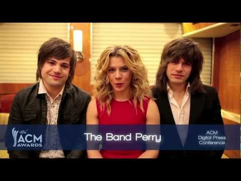 2013 ACM Awards Vocal Duo of the Year Nominees Presented by The Band Perry