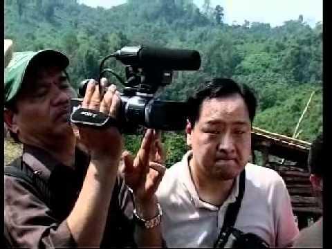 Đoàn báo chí Quốc tế tìm hiểu tình hình huyện Mường Nhé   Điện Biên