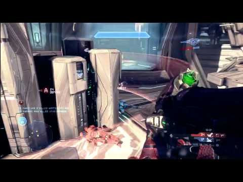 Halo 4 Multiplayer Tips & Tricks : King of the Hill KoTH Gameplay Commentary on Haven