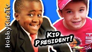 HobbyKids Make Handmade Awards a Kid President's idea