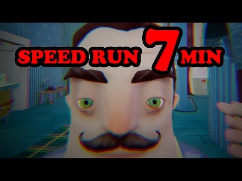 Hello Neighbor Alpha 4 Speedrun [7 MINUTES]