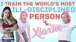 I Train The World's Most Ill-Disciplined Person (Xiaxue): No Sweat - EP6