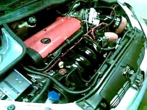 Peugeot 206 Turbo Engine Peugeot 206 S16 Turbo