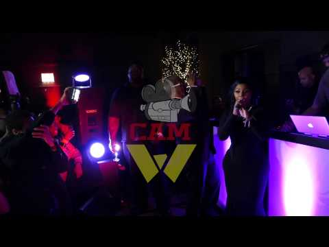Lil Kim Backstage - George Daniels Birthday - WALA CAM TV