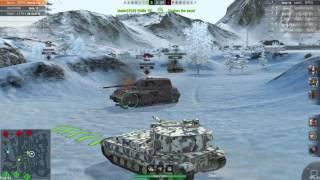 WoT Blitz || FV215b 183 - 7100+ DMG