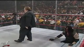 Undertaker most dangerous entry||Undertaker and stone cold Vs mankind and Kane