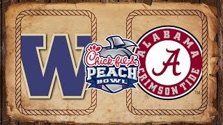 Washington vs. Alabama | Peach Bowl Preview