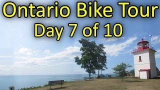 Kincardine to Goderich - Ontario Bike Tour #2 - Day 7 of 10
